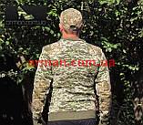 Свитер ВСУ армейский (ММ-14). Военная кофта камуфляж. Новый, фото 9