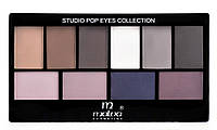 Набор теней для век Malva Cosmetics Eye Shadow Set Secret World (М-460-5) № 05