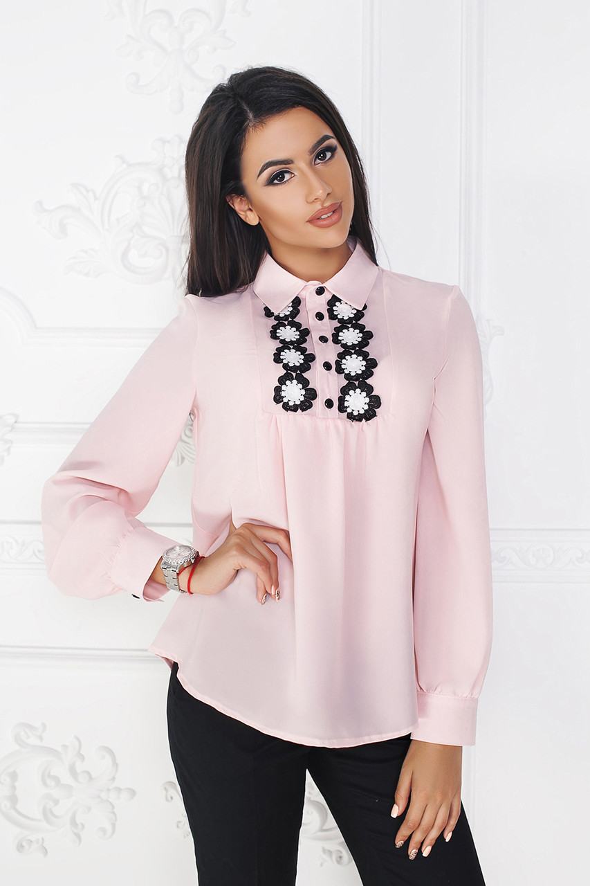 Розовая Блуза Дезири
