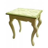 Столик интерьерный деревянный