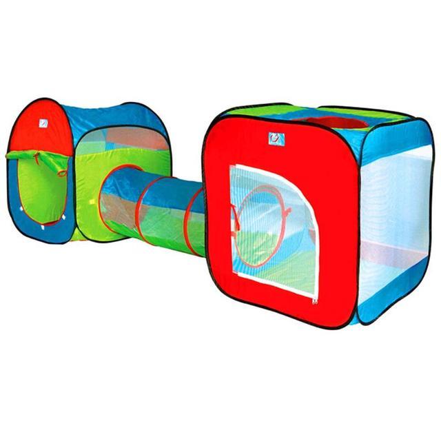 Детские палатки с туннелем