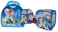 Детская палатка с тоннелем Frozen (270х92х92см) SG 7015 FZ-B (M 3312)