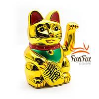 Кішка Манеки Неко машущий лапою 14,5 см