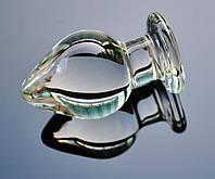 Анальная пробка - 105*60 mm стекло (XL)