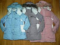 Куртки на девочку оптом, Glo-story, 134/140-170 рр