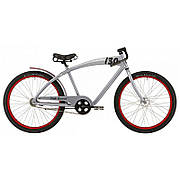 "Велосипед Felt Cruiser Little Bastard 18"" spider silver"
