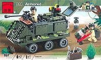 Конструктор Brick 814 Бронетранспортёр 167 деталей