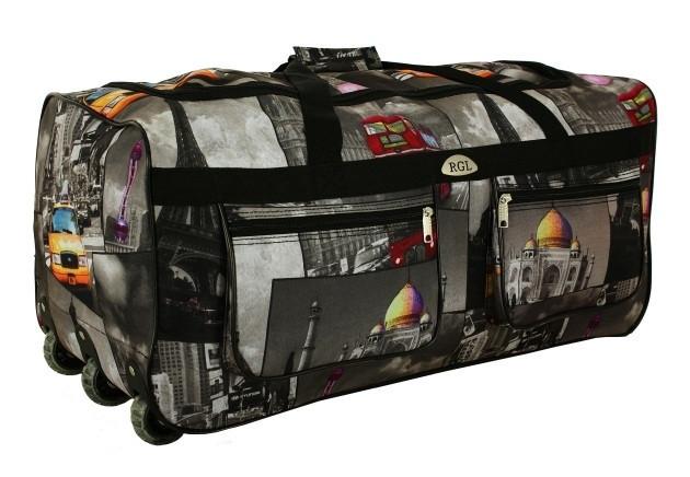 fe6522639e05 Дорожная сумка на колесах RGL A4 225 л с выдвижной ручкой - Интернет-магазин