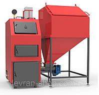 Твердотопливный котел с автоматической подачей топлива «РЕТРА-4М Дуо» 40 КВт