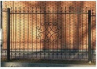 Кованый забор арт.zk.1