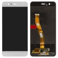 Дисплей для мобильного телефона Huawei P10, белый, с сенсорным экраном