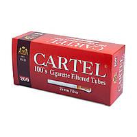 Гильзы для набивки сигарет Tubes CARTEL Red