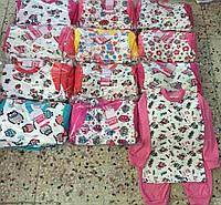 """Пижама детская на девочку (1-4 года) """"Kapitoshka"""" купить оптом со склада на 7км LM 749"""