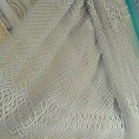 Гардина фатин с вышивкой Абстракция, фото 1