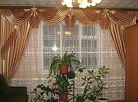 Шторы с ламбрекеном 4 метра в зал