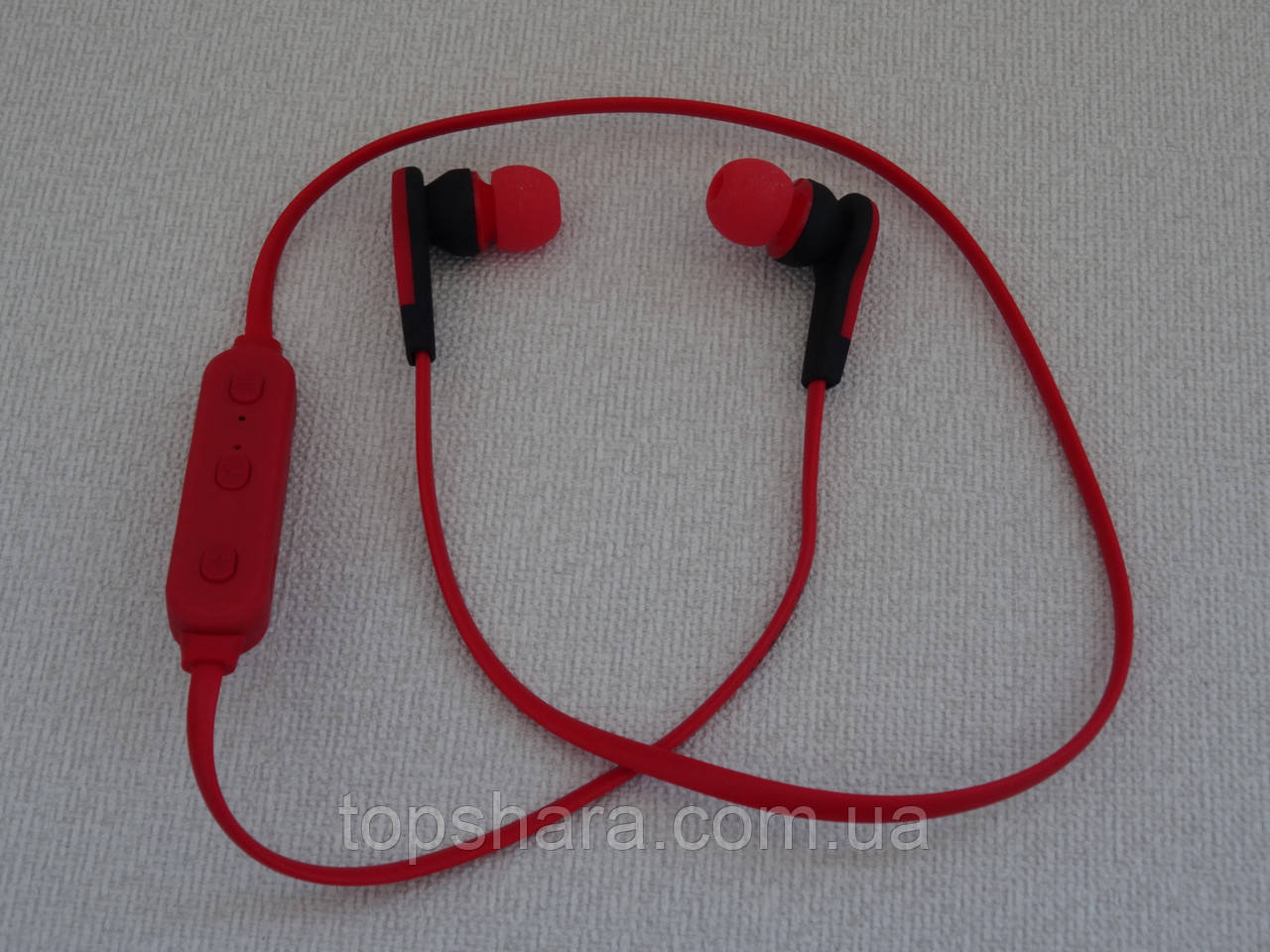 Наушники гарнитура Bluetooth Nike MS-B4 красные