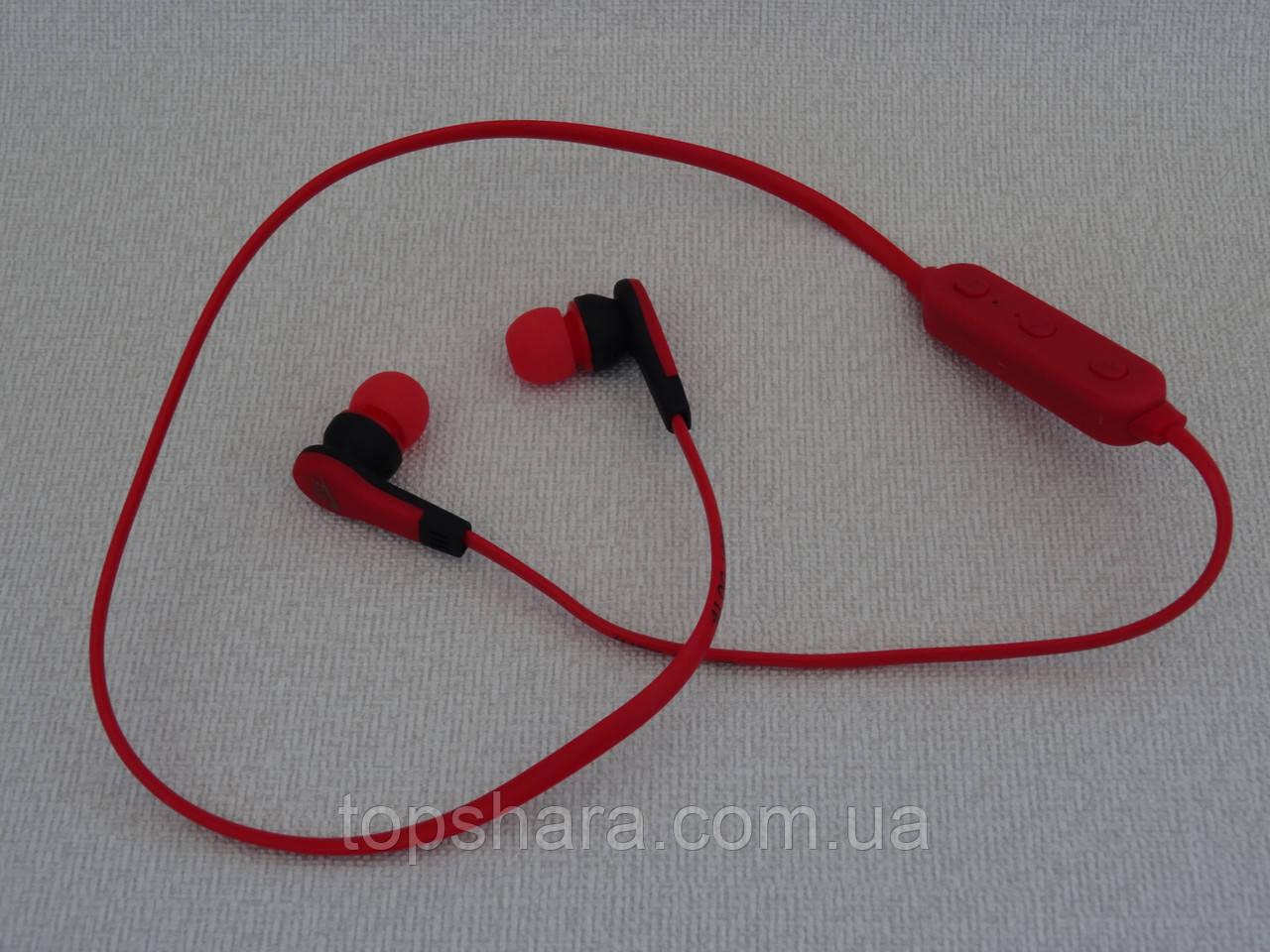 """Наушники беспроводные Bluetooth Nike MS-B4 красные - Интернет-магазин """"Topshara"""" в"""