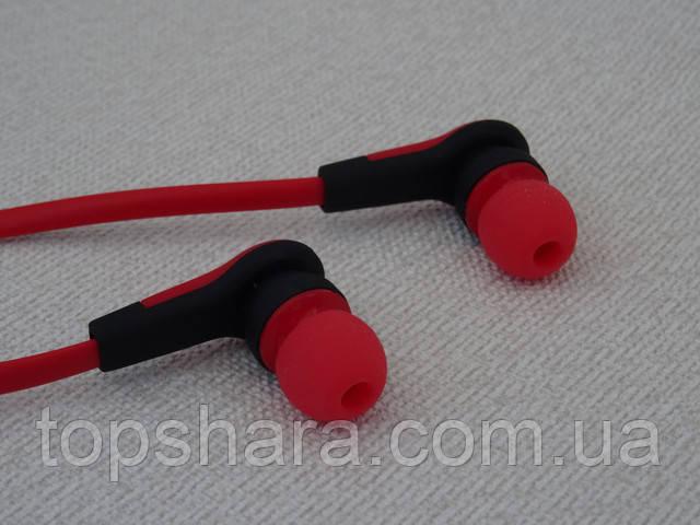 Наушники беспроводные Bluetooth Nike MS-B4 цвет красный