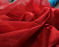 Фатин мягкий Турция 3 метра (Красный)