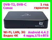 T2/C тюнер + Медиаплеер Android Gi Spark 2 Т2/С (Galaxy Innovations)