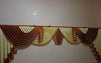 Ламбрекен в зал на 3 метра