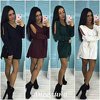 Cтильное платье туника в расцветках  ANG-002.10.003