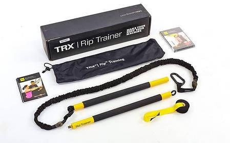 Палка гиманстическая с амортизатором TRX Rip Trainer, фото 2