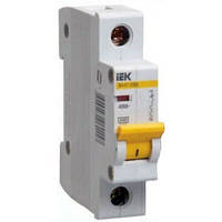 Автоматичний вимикач ІЕК ВА47-29М 1p 01A 4,5кА х-ка С