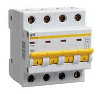 Автоматичний вимикач ІЕК ВА47-29М 4p 40А 4,5кА х-ка С