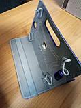 Чехол универсальный 2E для планшетов 10.1 поворотный 360 кожзам синий, фото 4