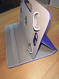 Чехол универсальный 2E для планшетов 10.1 поворотный 360 кожзам синий, фото 5