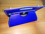 Чехол универсальный 2E для планшетов 10.1 поворотный 360 кожзам синий, фото 7