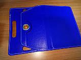 Чехол универсальный 2E для планшетов 10.1 поворотный 360 кожзам синий, фото 3