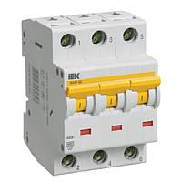 Автоматичний вимикач ІЕК ВА47-60 3p 16А C