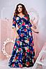 Женское платье в пол (50-60) 8174, фото 2