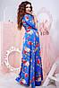 Женское платье в пол (50-60) 8174, фото 3