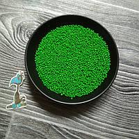 Кондитерская посыпка сахарные шарики Зеленые (2 мм.) - 50 грамм