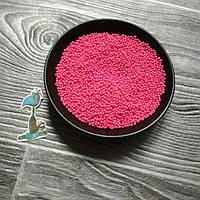 Кондитерская посыпка сахарные шарики Малиновые (2 мм.) - 50 грамм