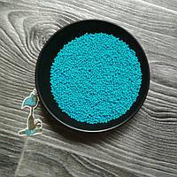 Кондитерская посыпка сахарные шарики Голубые (2 мм.) - 50 грамм
