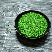 Кондитерская посыпка сахарные шарики Салатовые (2 мм.) - 50 грамм