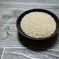 Кондитерская посыпка сахарные шарики Белые (2 мм.) - 50 грамм