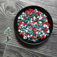 Кондитерская посыпка сахарные Звезды 2  - 50 грамм