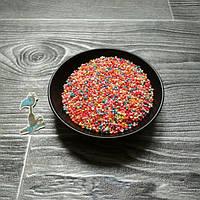 Кондитерская посыпка сахарные мелкие Конфетти  - 50 грамм