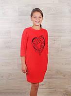 Платье детское (капитон)  на рост от 128 см до 152 см