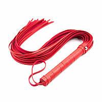 Плетка игровая 15 см, цвет черный, красный