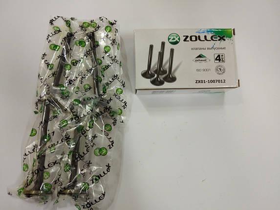 Клапан 2101, 2102, 2103, 2104, 2105, 2106, 2107 ZOLLEX выпуск ZX01-1007012, фото 2