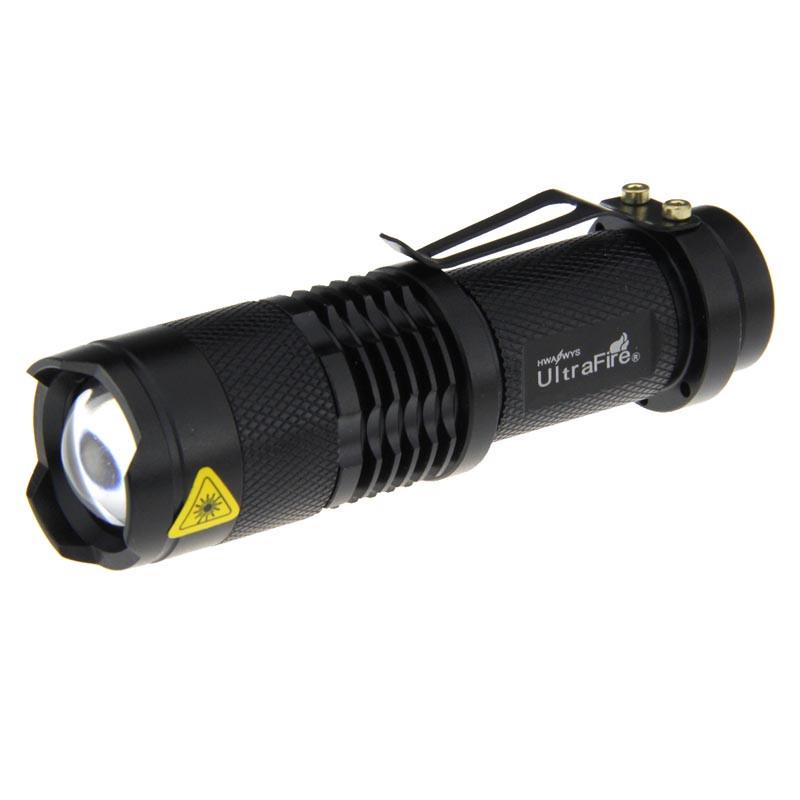 ef3c63ef2f86 Фонарь светодиодный компактный UltraFire (Sipik) Cree Q5, 1 режим,  фокусировка