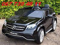 Детский электромобиль Mercedes-Benz GLS-63 AMG черный