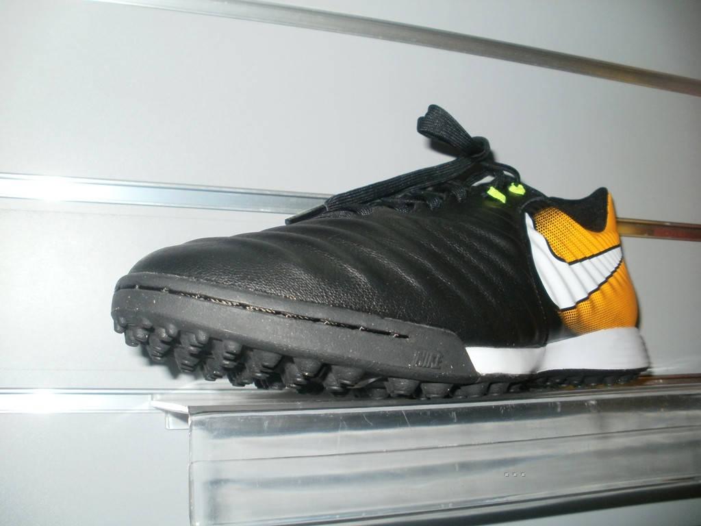fa98ce72 Сороконожки Nike TiempoX Ligera IV TF Black/White/Orange/Volt 897766-008 ...