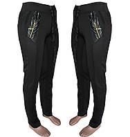 Женские стрейчевые брюки с начесом (эластан) LP1779m оптом со склада в Одессе